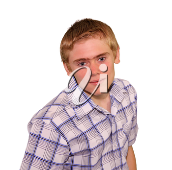Teen boy body language expressions - Staring Overly Fixated