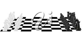 Royalty Free Clipart Image of Chess