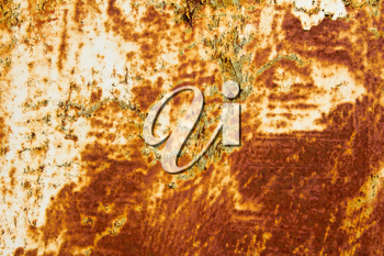 an old rusty iron background
