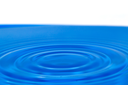 background of blue water with circles