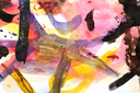 abstract background of watercolor paints
