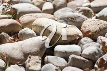 background of stones in nature