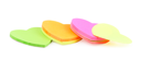 Royalty Free Photo of Heart Shaped Notes