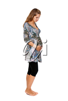 Royalty Free Photo of a Pregnant Woman