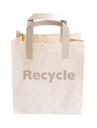 Royalty Free Photo of a Recycled Bag