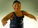 Royalty Free Photo of a Figurine of a Woman