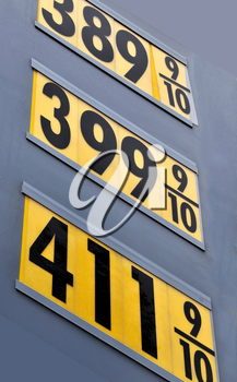 Royalty Free Photo of Gas Prices