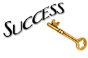 Royalty Free Photo of a Key to Success