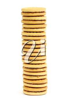 Royalty Free Photo of a Stack of Cookies