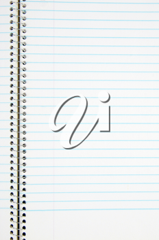 Royalty Free Photo of a Blank Notebook