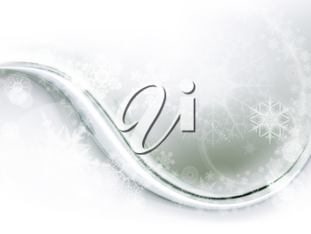 Abstract winter background, eps10
