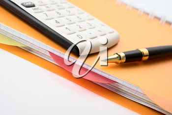 Royalty Free Photo of Business Objects