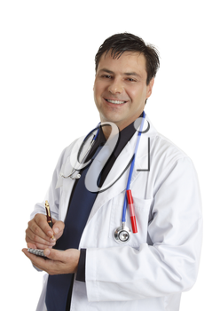 Smiling doctor or other professional healthcare worker