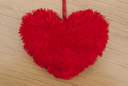 Royalty Free Photo of a Fluffy Heart