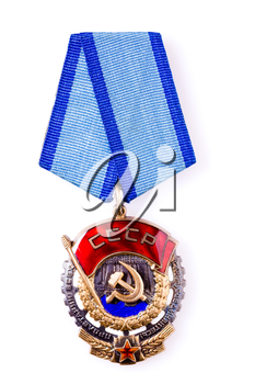 MINSK, BELARUS - FEB 03: Collection of Russian (soviet) medals for participation in the Second World War, February 03, 2014.