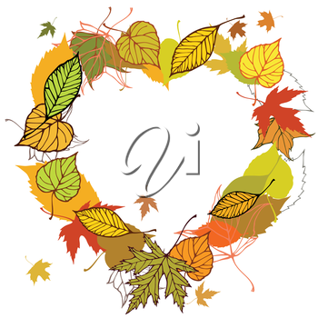 Vector illustration, template for decoration and design