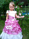 image of little very beautiful girl - princess