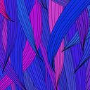 Colorful Wave Background. Abstract Colored Wave Pattern
