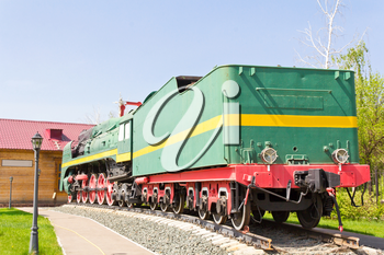Photo of Russian rail road locomotive in Samara