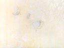 construction background - cleared wall with patches of fresh putty before wallpapering