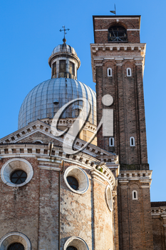 travel to Italy - dome and towers of Padua Cathedral
