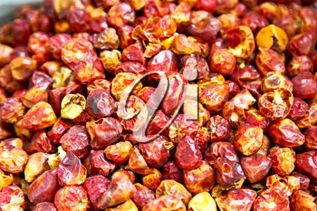 blur  in iran bazaar  old market spice ingredient for food exotic herb