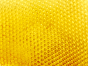 Honeycomb of fresh wax with empty cells