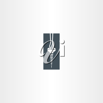 screwdriver and screw icon design service tool