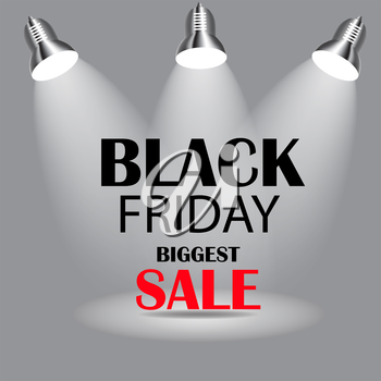Black Friday Sale Icon Vector Illustration. EPS10