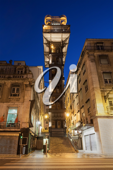 The Santa Justa Lift also called Carmo Lift is an elevator in Lisbon