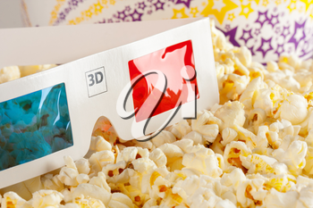 3D Glasses and some popcorn