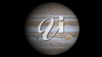 Royalty Free Photo of Jupiter. Fifth Planet in the Solar System