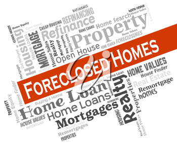 Foreclosed Homes Showing Foreclosure Sale And Properties