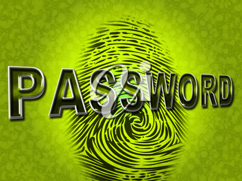 Password Fingerprint Meaning Log Ins And Internet
