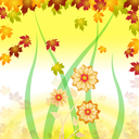 Floral Background Representing Flower Florals And Template