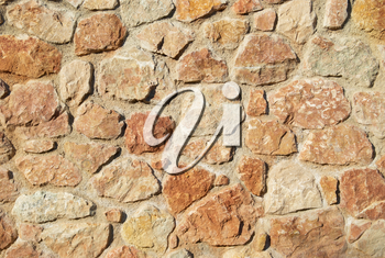 Stone wall can be used for background
